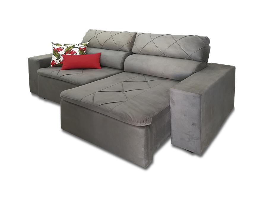 Magnificent Sofa Retratil E Reclinavel Estofatti Tapecaria Evergreenethics Interior Chair Design Evergreenethicsorg
